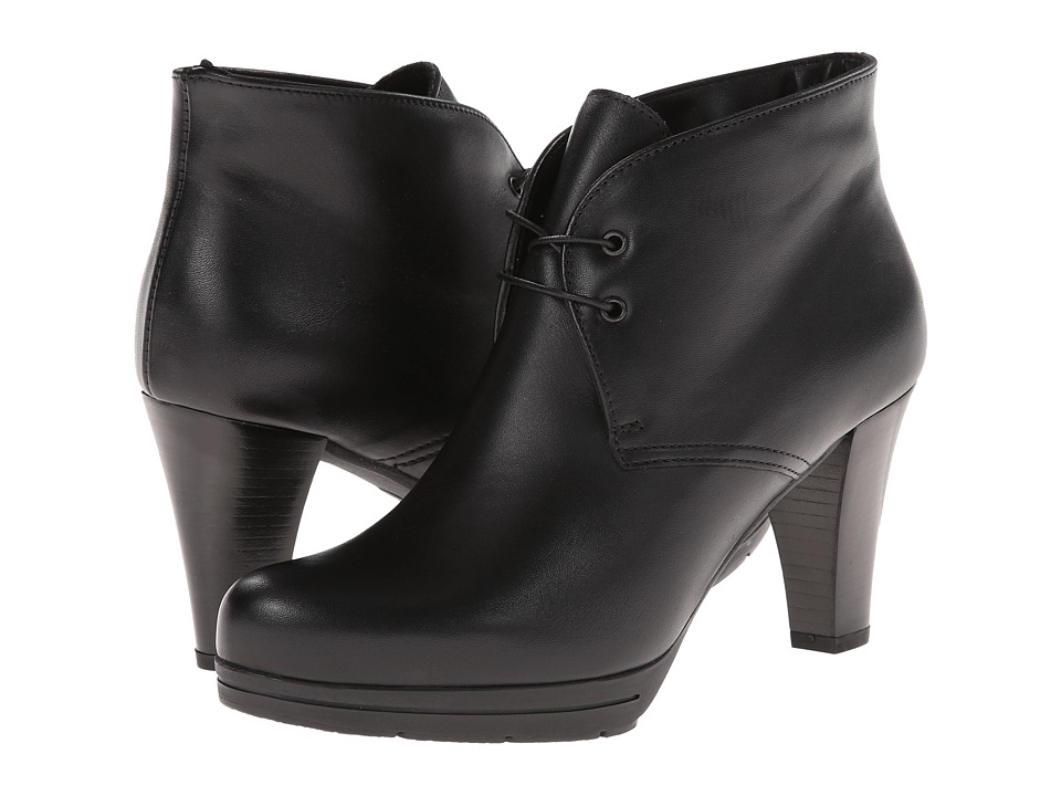 La Canadienne - Madison (Black Leather) Women's Boots
