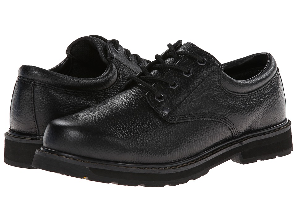 Dr. Scholl's - Harrington (Black Luxury Leather) Men's Lace up casual Shoes