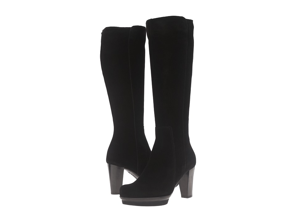 La Canadienne - Massie (Black Suede) Women's Boots