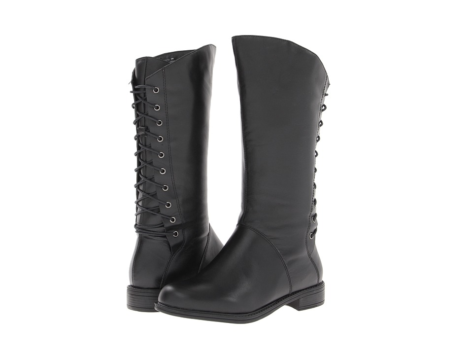 David Tate - Tampa Wide Shaft (Black) Women's Boots