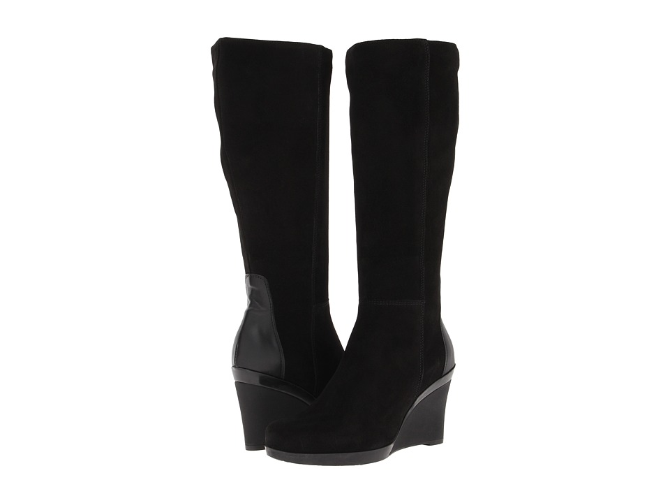La Canadienne - Ilenna (Black Suede) Women's Boots