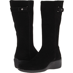 La Canadienne Faith (Black Suede) Footwear