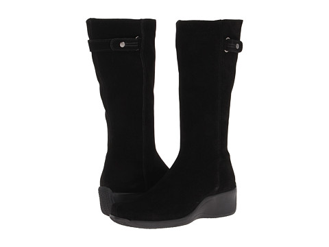 La Canadienne - Faith (Black Suede) Women