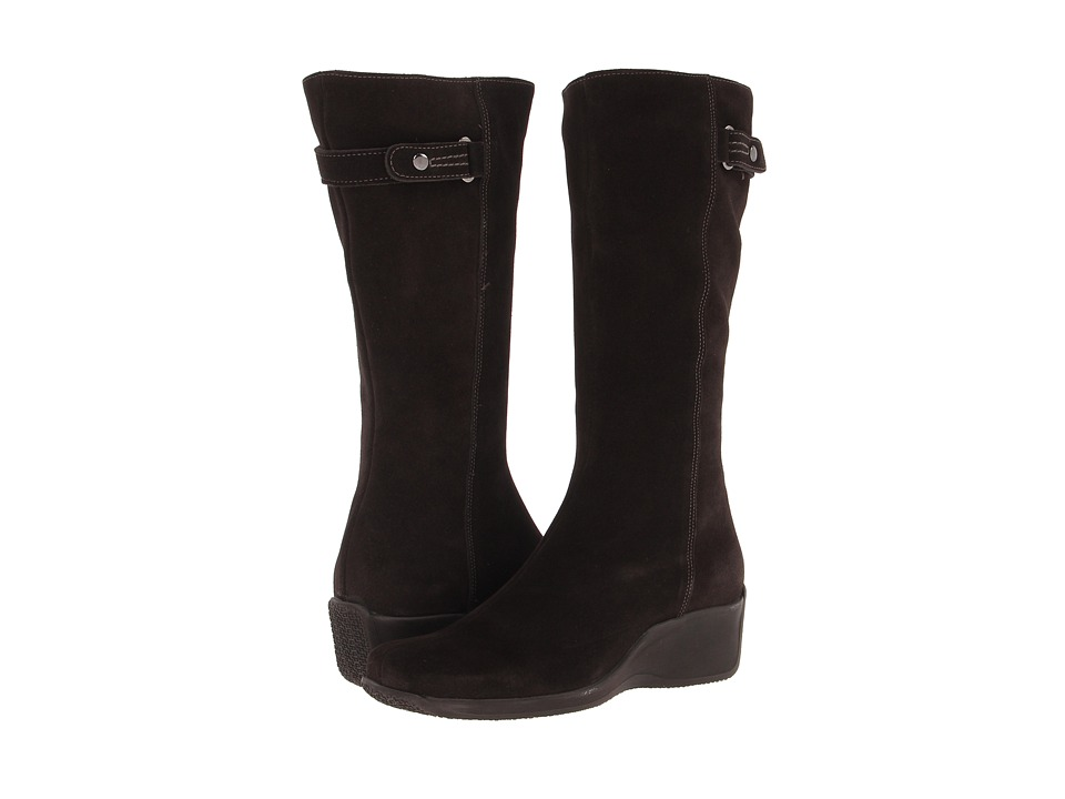 La Canadienne - Faith (Espresso Suede) Women