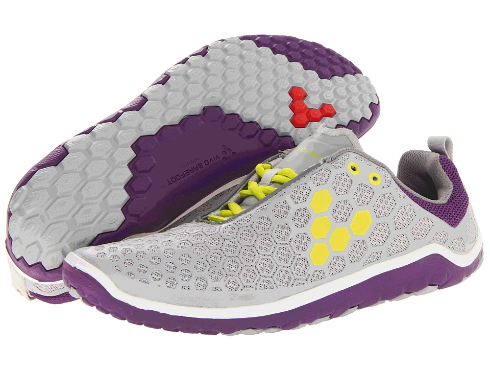 Vivobarefoot - Evo Lite L (Silver/Lime) Women's Running Shoes