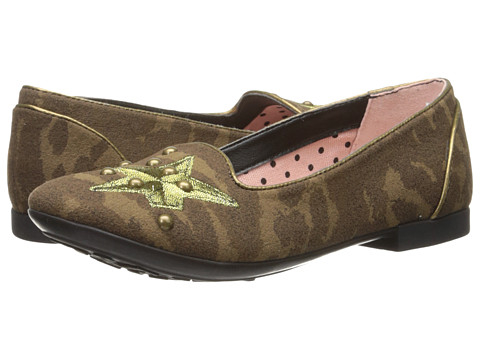 Geox Kids - Jr Plie 7 (Little Kid) (Camouflage) Girls Shoes
