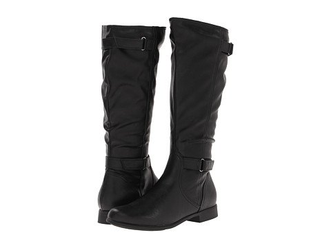 Hush Puppies - Motive 16BT (Black PU) Women's Boots