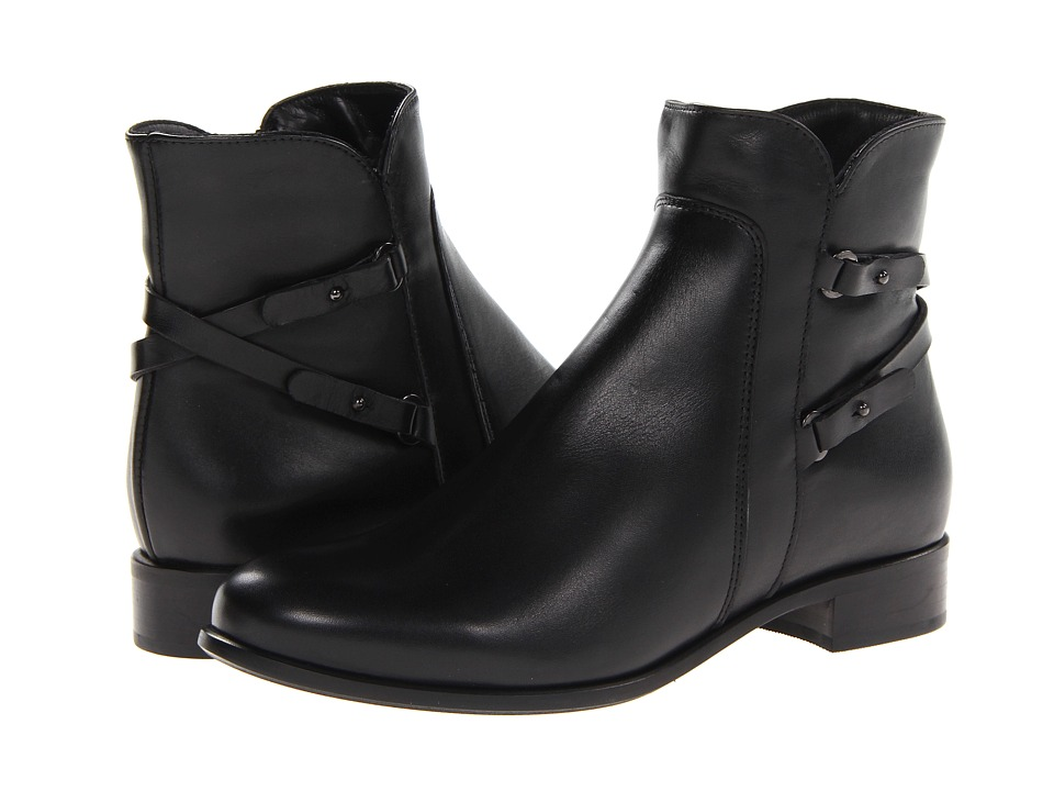 La Canadienne - Sharon (Black Leather) Women