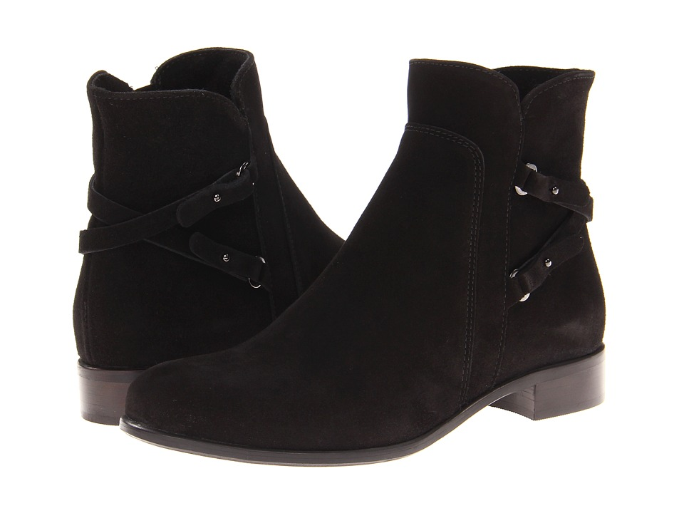 La Canadienne - Sharon (Black Suede) Women's Boots