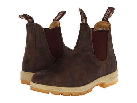Blundstone - BL1319 (Rustic Brown/Gum) Boots
