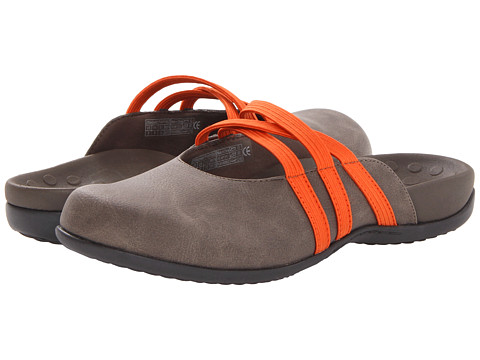 VIONIC with Orthaheel Technology - Sasha II Mule (Grey) Women