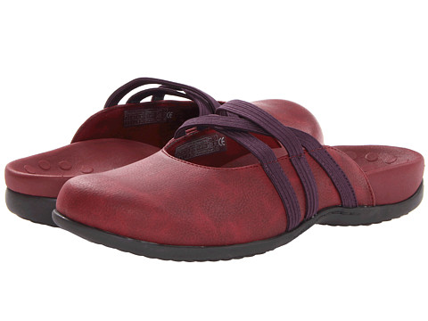 VIONIC with Orthaheel Technology - Sasha II Mule (Wineberry) Women