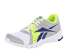 Reebok - RealFlex Advance (GP-White/Steel/Blue Move/Neon Yellow)
