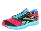 Reebok - Dual Turbo Fire (Candy Pink/Black/Blue Blink/Neon Orange/Emerald Sea)