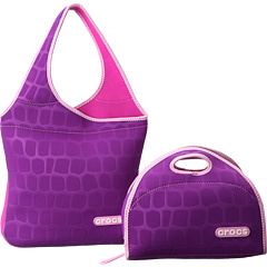 SALE! $29.99 - Save $35 on Crocs Crocs Neoprene Tote Lunch Bag Combo (Purple) Bags and Luggage - 53.86% OFF $65.00