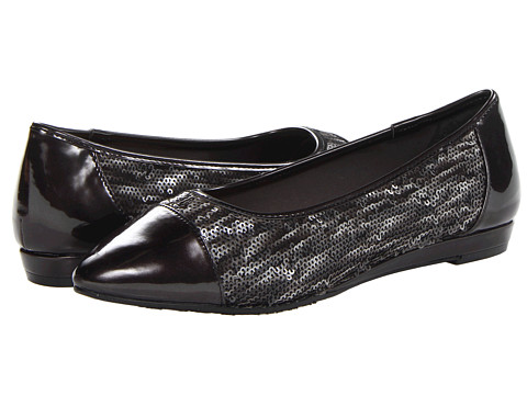 Soft Style - Danyel (Dark Grey Sequins) Women's Flat Shoes