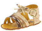 Juicy Couture Kids - Gold Sandal (Infant) (Gold Metallic) - Footwear