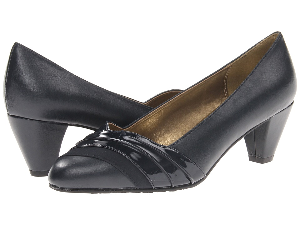 Soft Style - Danette (Navy) Women's 1-2 inch heel Shoes