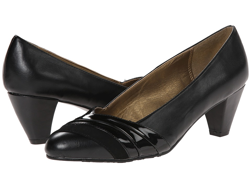 Soft Style - Danette (Black) Women's 1-2 inch heel Shoes