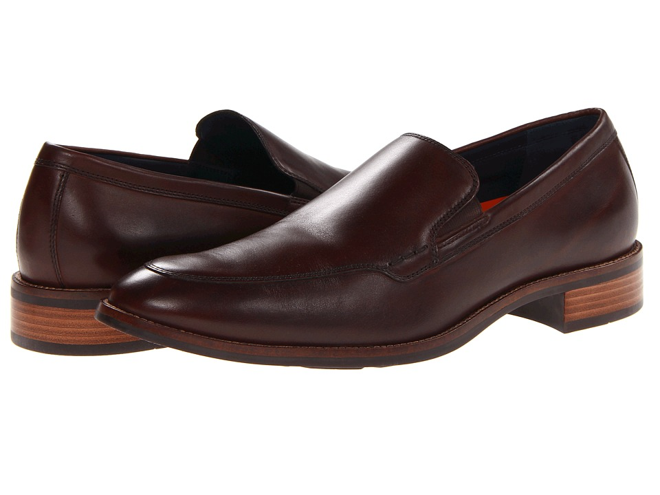 Cole Haan - Lenox Hill Venetian (Dark Brown) Men's Slip-on Dress Shoes