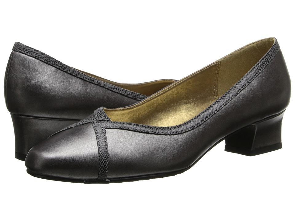 Soft Style - Lanie (Dark Pewter) Women's 1-2 inch heel Shoes