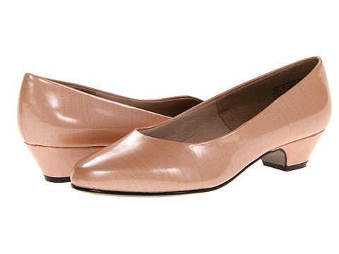 Soft Style - Angel II (Nude Lizard Patent) Women's 1-2 inch heel Shoes
