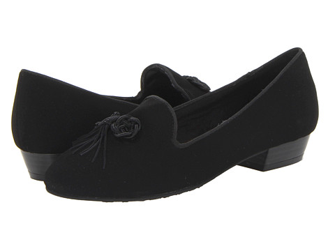 Soft Style - Shayna (Black Lamy) Women's Dress Flat Shoes