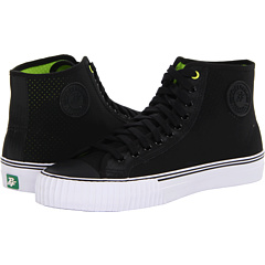 SALE! $17.99 - Save $37 on PF Flyers Center Hi Re Issue Perforated (Black Synthetic Leather) Footwear - 67.29% OFF $55.00