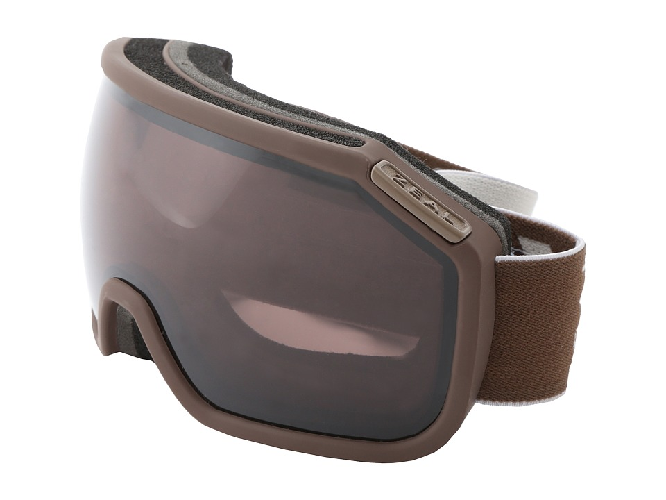 Zeal Optics - Fargo (Coffee + Cream + Optimum Lens W/Polarized Gunmetal) Goggles