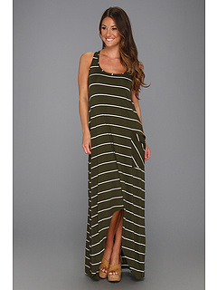 SALE! $41.99 - Save $126 on Michael Stars Pippa Island Stripe Hi Low Dress (Vintage) Apparel - 75.01% OFF $168.00