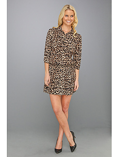 SALE! $104.99 - Save $123 on Juicy Couture Leopard Lauren Dress (Winter Leopard) Apparel - 53.95% OFF $228.00