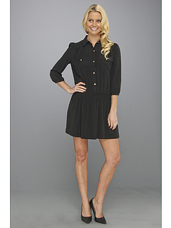 SALE! $99.99 - Save $118 on Juicy Couture Lauren Dress (Pitch Black) Apparel - 54.13% OFF $218.00