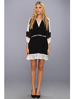 SALE! $166.2 - Save $112 on Juicy Couture Yasmin Dress (Pitch Black Angel) Apparel - 40.22% OFF $278.00