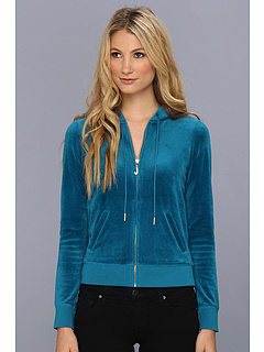SALE! $46.99 - Save $71 on Juicy Couture J Bling Hoodie (Jade) Apparel - 60.18% OFF $118.00
