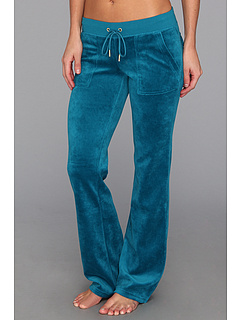 SALE! $56.99 - Save $69 on Juicy Couture Velour Bling Bootcut Pant (Jade) Apparel - 54.77% OFF $126.00