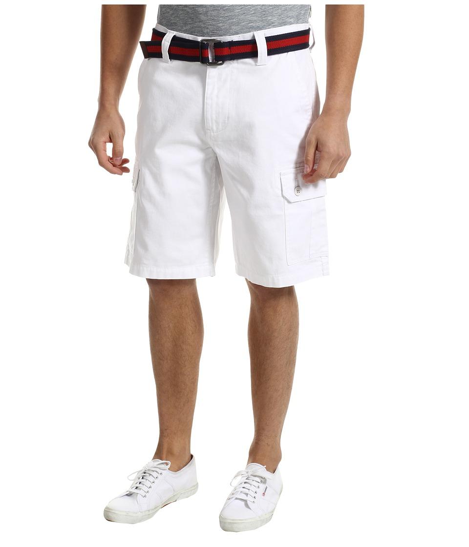 U.S. POLO ASSN. - Twill Cargo Short (White 1) Men's Shorts