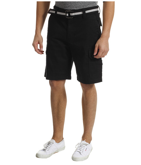 U.S. POLO ASSN. - Twill Cargo Short (Black) Men