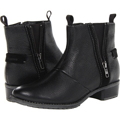 Hush Puppies Chamber Ankle BT (Black WP Leather) Footwear