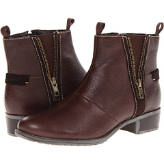 Hush Puppies Chamber Ankle BT (Dark Brown WP Leather) Footwear
