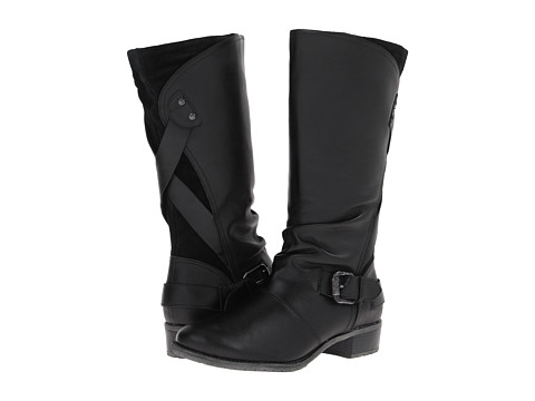 Hush Puppies - Chamber 12BT (Black WP Leather) Women's Waterproof Boots