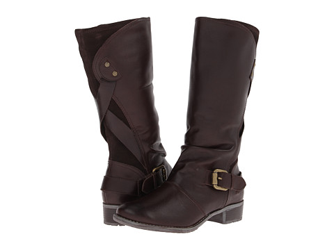 Hush Puppies - Chamber 12BT (Dark Brown WP Leather) Women's Waterproof Boots