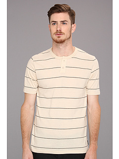 SALE! $11.99 - Save $22 on Brixton Townsend Henley SS (Cream) Apparel - 64.74% OFF $34.00
