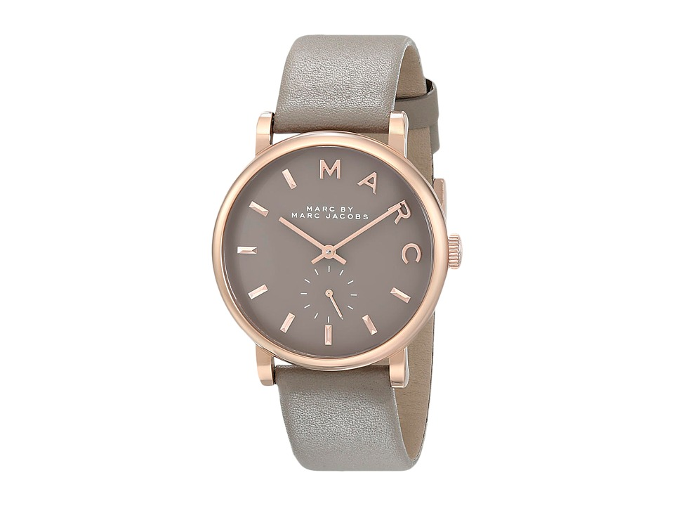 Marc by Marc Jacobs - MBM1266 - Baker (Grey/Rose Gold) Watches