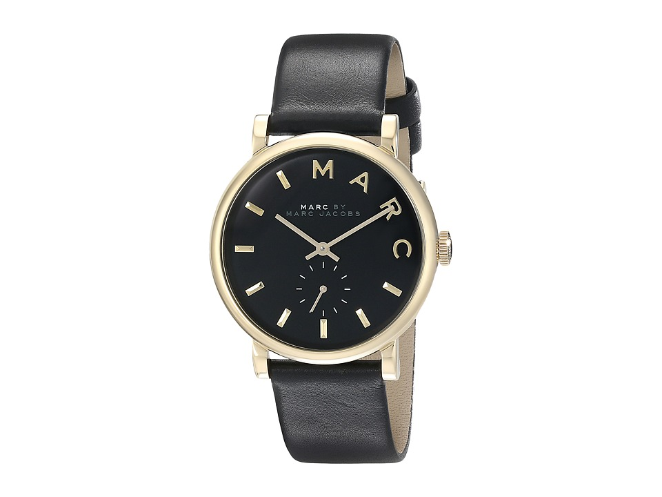 Marc by Marc Jacobs - MBM1269 - Baker (Black/Gold) Watches