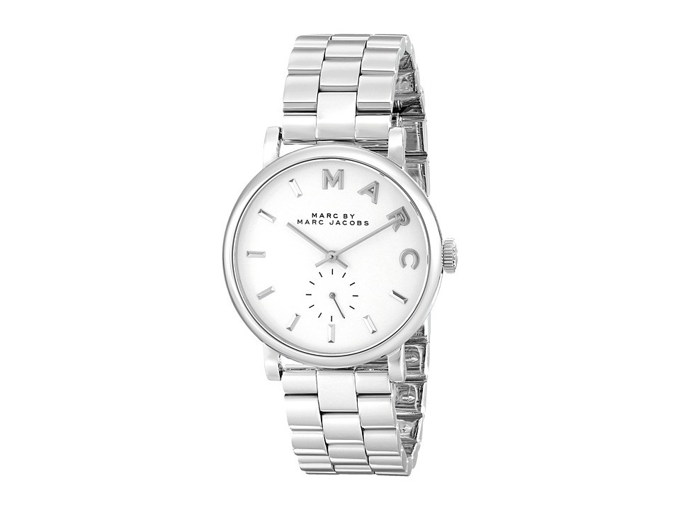 Marc by Marc Jacobs - MBM3242 - Baker (Silver) Watches