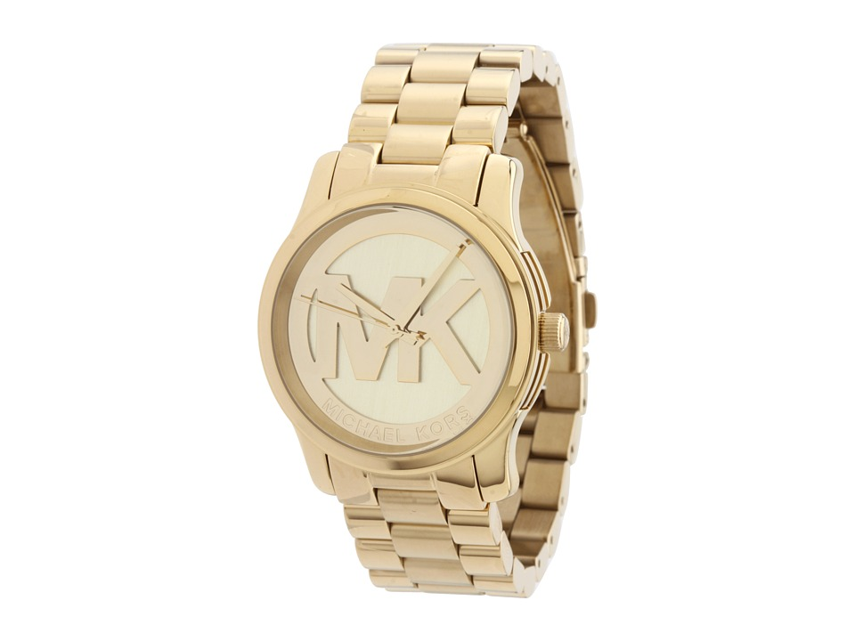 Michael Kors - MK5786 - Runway (Gold) Analog Watches