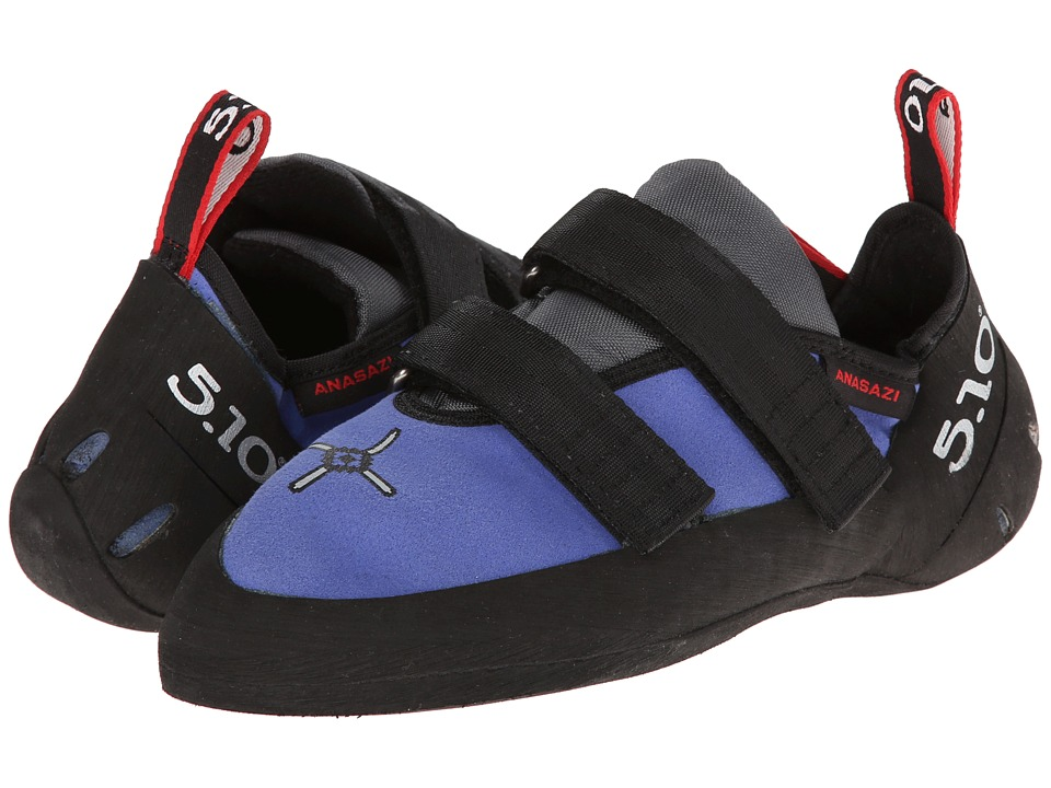 Five Ten - Anasazi VCS (Petroglyph Blue) Men's Climbing Shoes
