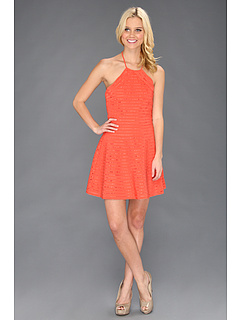 SALE! $86.99 - Save $199 on Parker Karmen Dress (Melon) Apparel - 69.58% OFF $286.00