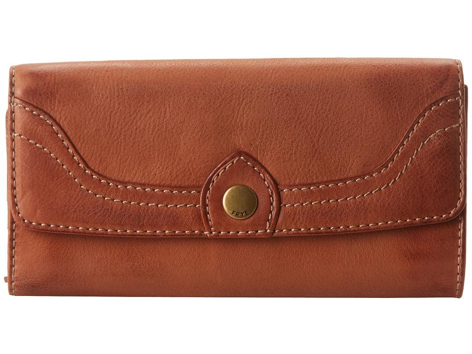 Frye - Campus Large Wallet (Saddle Dakota) Wallet Handbags