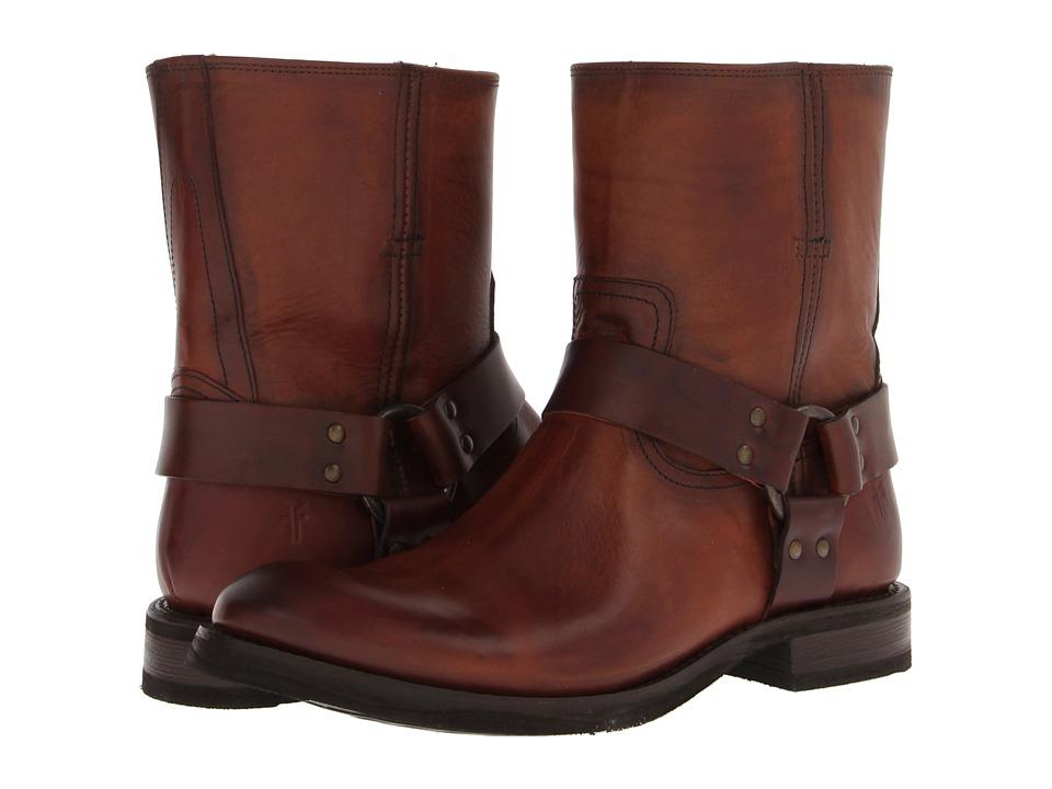 Frye - Jonathan Harness (Cognac Soft Vintage Leather) Men